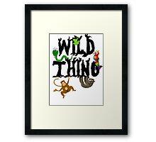 Wild Thing Framed Print