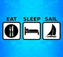 Eat Sleep Sail by BailoutIsland