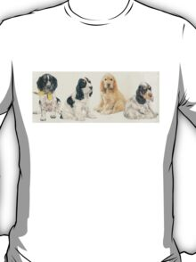 English Cocker Spaniel Puppies T-Shirt
