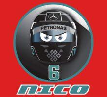 Nico ROSBERG_2015_Helmet #6 Kids Clothes