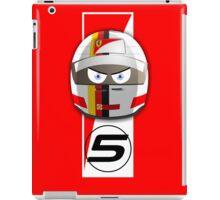 SEBASTIAN VETTEL #5_2015 iPad Case/Skin