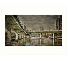 Dojima bridges Art Print