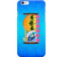 Hawaiian Surfing iPhone Case/Skin