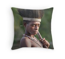 Looking Good And Feeling Good Throw Pillow