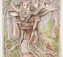 Maisy`s House by morgansartworld
