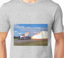 fire breathing jet semi Unisex T-Shirt