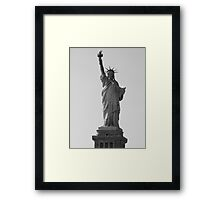 Statue of Liberty - Phone case Framed Print