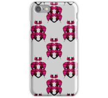 Cool Retro Floral Design iPhone Case/Skin