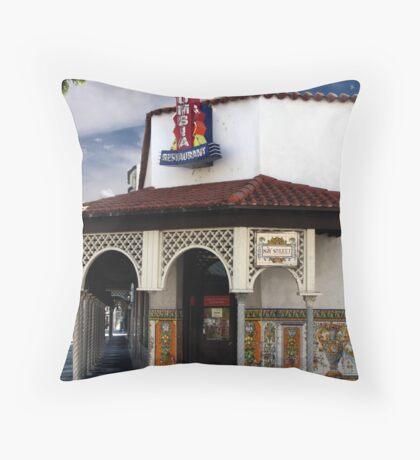 Columbia Restaurant Ybor City Throw Pillow
