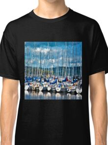 Sailboats Painted Classic T-Shirt