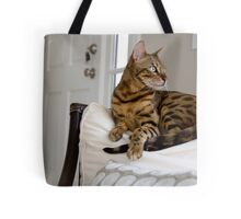 Forrest the Bengal  Tote Bag