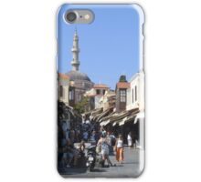 Rhodes Town iPhone Case/Skin