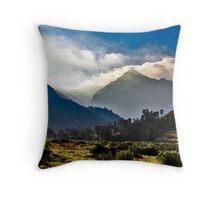 Nichols Peak Sunrise Throw Pillow