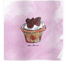 Wildberries Cupcake Poster
