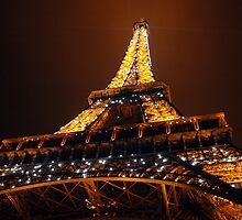 Eiffel Tower at Night by suz01