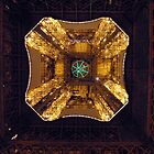 Vanishing Point - Inside the Eiffel Tower by suz01