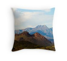 Light on the Goldfields Throw Pillow