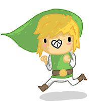 cartoon lonk by Gregory Swanson