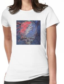 Impressionist Stealie Womens Fitted T-Shirt
