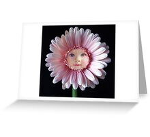 April Flower Baby Greeting Card