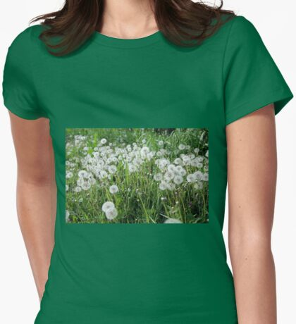 I Wonder If I Will Have Enough Breath to Find Out Womens Fitted T-Shirt