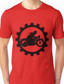 Vintage Motorcycle decal..... Unisex T-Shirt