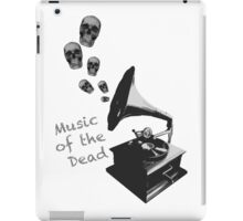 Music of the Dead iPad Case/Skin