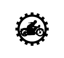 Vintage Motorcycle decal..... by Kricket-Kountry