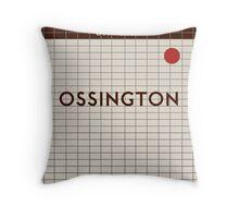 OSSINGTON Subway Station Throw Pillow