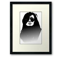 Top Gun Girl Framed Print