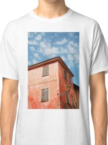 Red Building in Caorle Classic T-Shirt