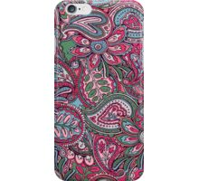 Valentines Paisley - pink iPhone Case/Skin