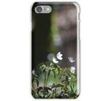 Wood anemones iPhone Case/Skin