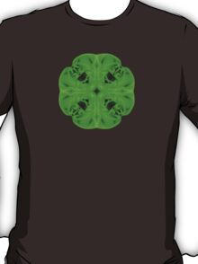"""Spirit of India: Blossom"" in emerald green T-Shirt"