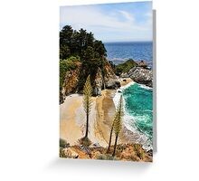 McWay Cove Greeting Card