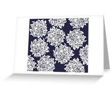 flower (purple) Greeting Card