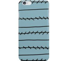 Jagged Lines iPhone Case/Skin