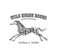 WILD HORSE RODEO...Iron Horses  vs.  Iron Men! by Kricket-Kountry