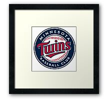 minnesota twins Framed Print