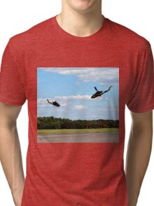 sky soldiers cobra demonstration Tri-blend T-Shirt