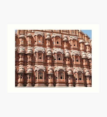 Hawa Mahal, Jaipur landmark, Rajesthan, India Art Print