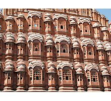 Hawa Mahal, Jaipur landmark, Rajesthan, India Photographic Print
