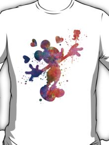 Mickey Mouse in watercolor T-Shirt