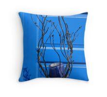 That Greek Blue! Throw Pillow