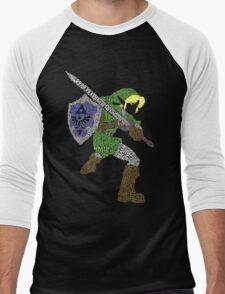Legend of Zelda - Link - Typography T-Shirt