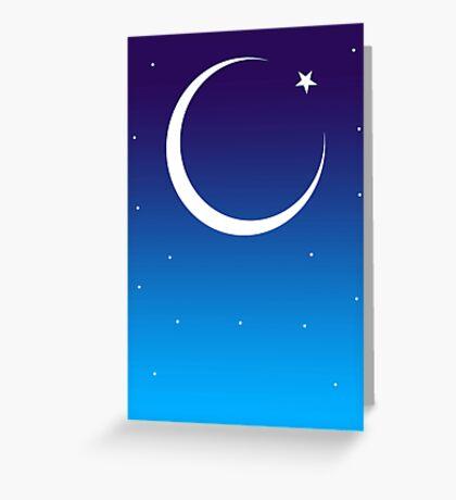 Id Moon Greeting Card