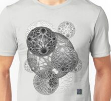 """Bioinformatic Tiled Algorithms - GREY""© Unisex T-Shirt"