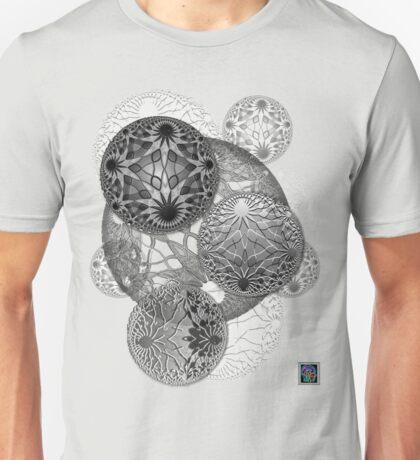 """Bioinformatic Tiled Algorithms - GREY""© Unisex T-Shirt"