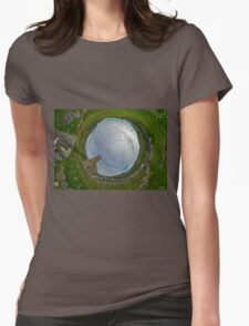 Glencolmcille Church - Sky In Womens Fitted T-Shirt