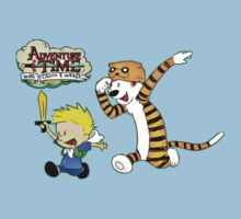 Adventure Time Calvin and Hobbes T-Shirt